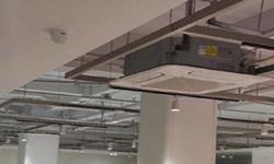 南山哈哈贝贝早教中心海康半球监控头28.mm安装监控工程